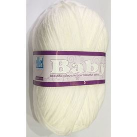 Picture of Baby Double Knit - 01 White