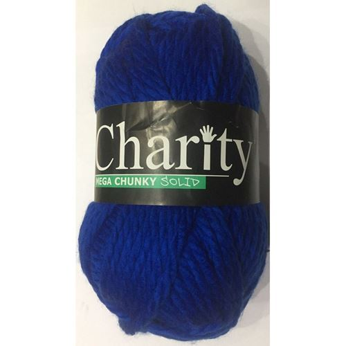 Picture of Elle Charity Mega Chunky Solid – 08 Royal