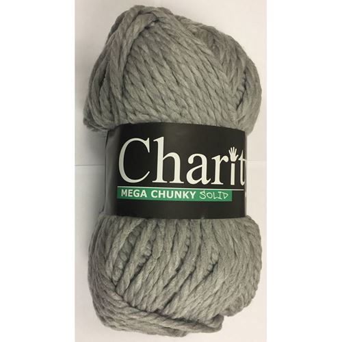 Picture of Elle Charity Mega Chunky Solid – 11 Silver