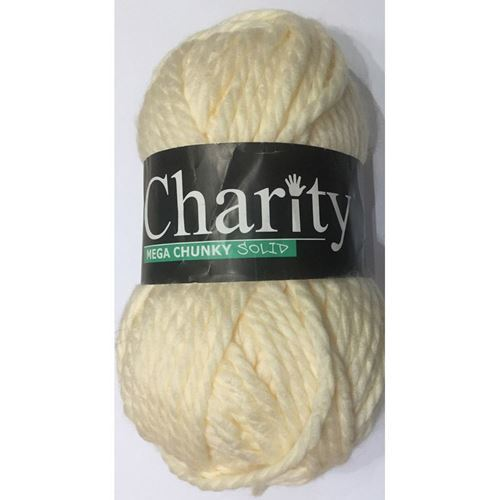 Picture of Elle Charity Mega Chunky Solid – 14 Cream