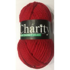 Picture of Elle Charity Mega Chunky Solid – 169 Cherry Red