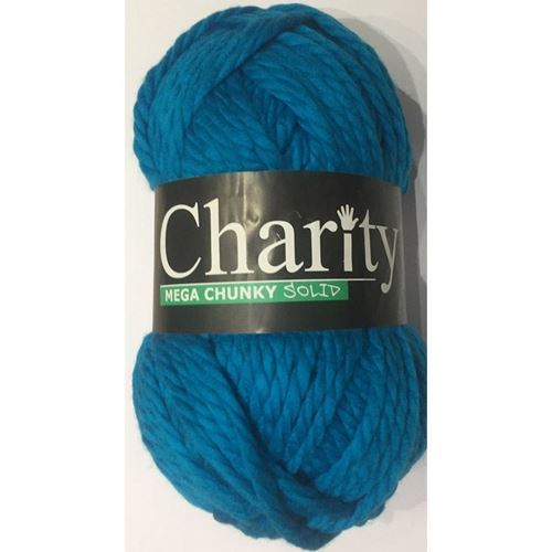 Picture of Elle Charity Mega Chunky Solid – 59 Turquoise