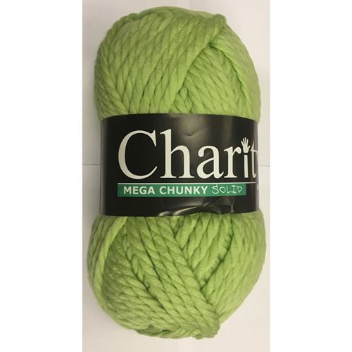 Picture of Elle Charity Mega Chunky Solid – 81 Limedrop