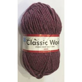 Picture of Classic Wool Aran - 60 Prune