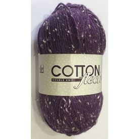 Picture of Cotton Fleck Double Knit - 60 Heather