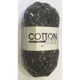 Picture of Cotton Fleck Double Knit - 73 Ebony