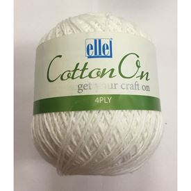 Picture of Cotton On 4Ply - 01 White