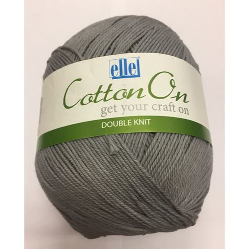 Picture of Cotton On Double Knit - 751 Grey