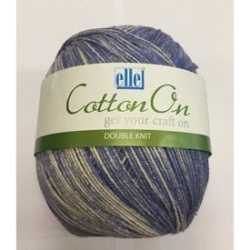 Picture of Cotton On Double Knit - 801 Rainday Blue