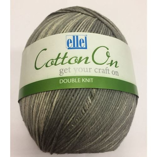 Picture of Cotton On Double Knit - 803 Thunder Grey
