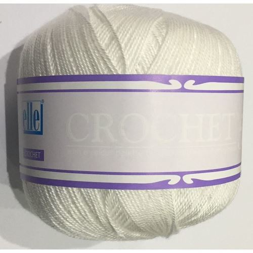 Picture of Crochet No.5 - 01 White