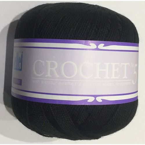 Picture of Crochet No.5 - 17 Black