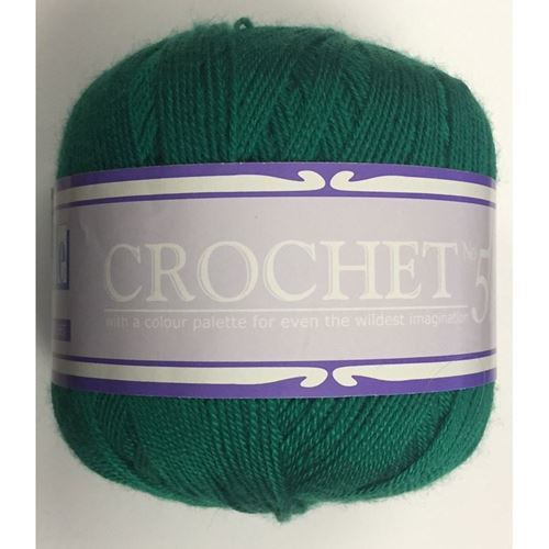 Picture of Crochet No.5 - 22 Emerald