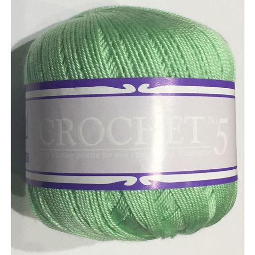 Picture of Crochet No.5 - 28 Summer Green