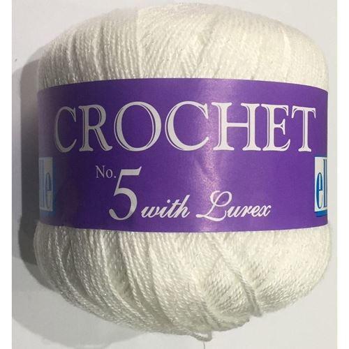 Picture of Crochet No.5 Lurex - 01 Nacre