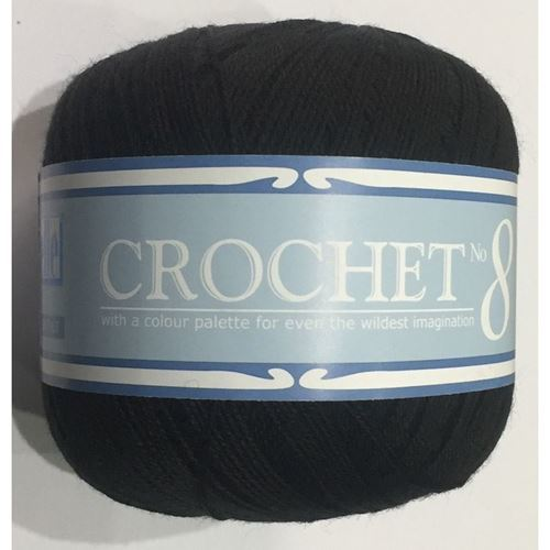 Picture of Crochet No.8 - 17 Black