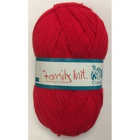 Picture of Family Knit Classic 4Ply - 09 Red
