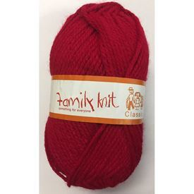 Picture of Family Knit Classic Chunky - 169 Cherry Red