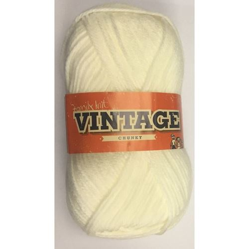 Picture of Family Knit Vintage Chunky - 105 Porcelian