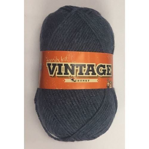 Picture of Family Knit Vintage Chunky - 250 Hydro Blue