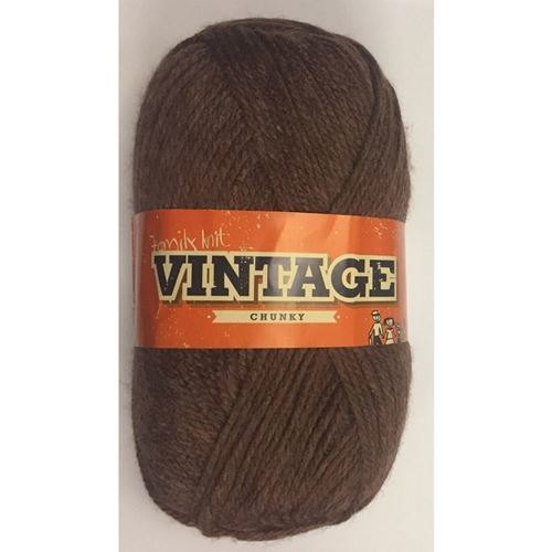 Picture of Family Knit Vintage Chunky - 271 Deep Mahogany
