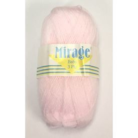 Picture of Mirage 3Ply Baby - 04 Pink