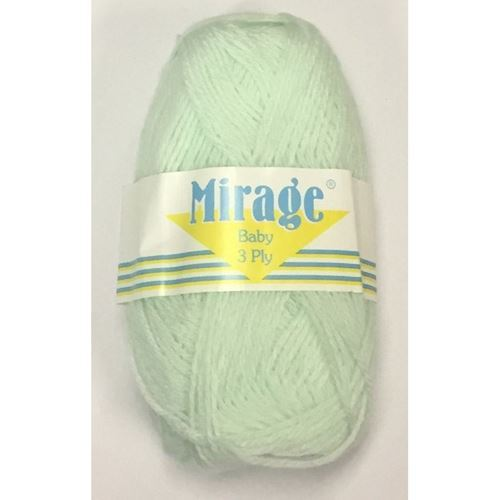 Picture of Mirage 3Ply Baby - 22 Baby Green