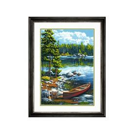 Picture of Canoe by the Lake