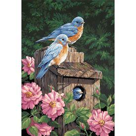 Picture of Garden Bluebirds