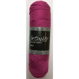 Picture of Premier Natural Cotton 4Ply - 05 Fuschia