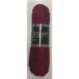 Picture of Premier Natural Cotton 4Ply - 18 Burgandy