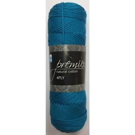 Picture of Premier Natural Cotton 4Ply - 59 Turquoise