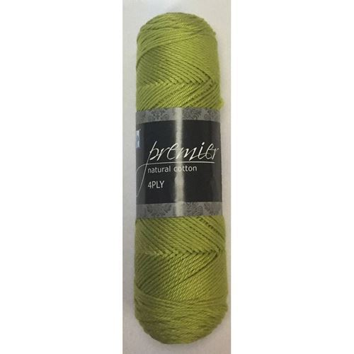 Picture of Premier Natural Cotton 4Ply - 61 Leaf