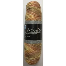 Picture of Premier Natural Cotton 4Ply Print - 111 Birdseed