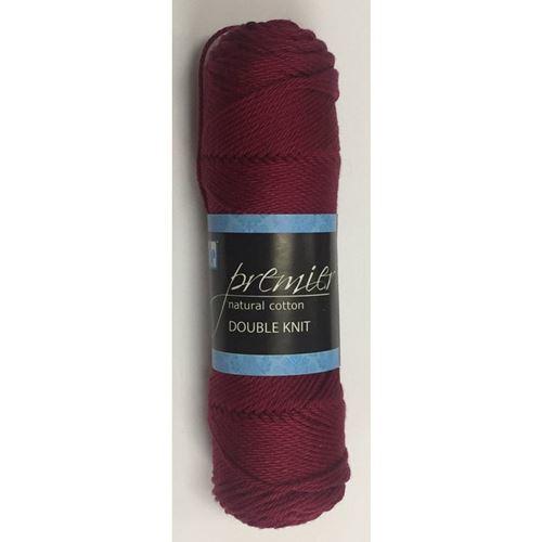 Picture of Premier Natural Cotton Double Knit - 18 Burgandy