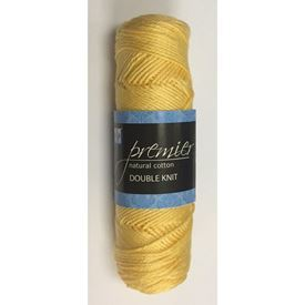 Picture of Premier Natural Cotton Double Knit - 20 Butter