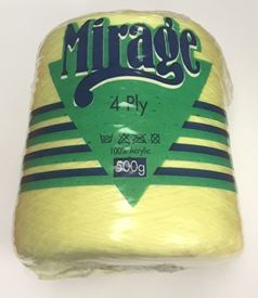 Picture of Mirage 4Ply Cone - 02 Lemon