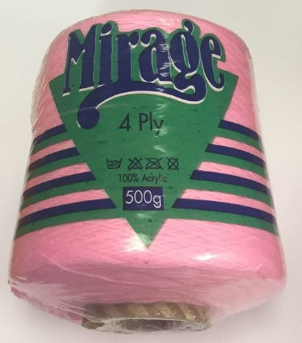 Picture of Mirage 4Ply Cone - 04 Bright Pink