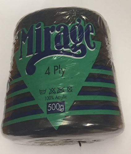 Picture of Mirage 4Ply Cone - 17 Black