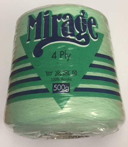 Picture of Mirage 4Ply Cone - 28 Soft Green