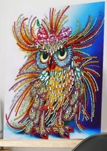 Picture of Sparkly Mrs Owl