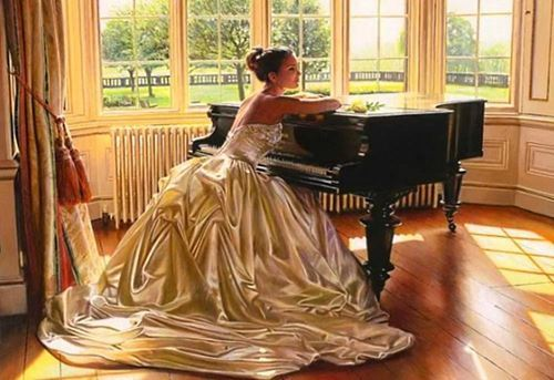 Picture of Piano Lady
