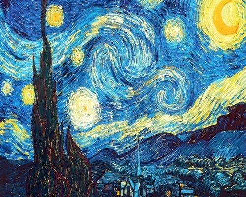 Picture of Starry Night - Vincent van Gogh