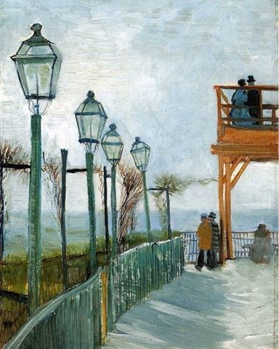 Picture of Montmarte - Vincent van Gogh