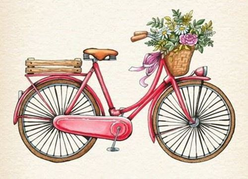Picture of Pink Bicycle