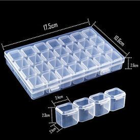Picture of 28 unit plastic container