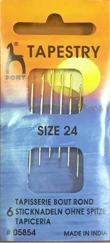 Picture of Cross Stitch Needles Size 24