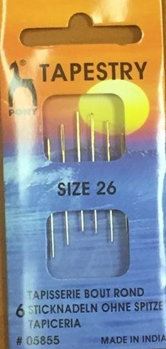 Picture of Cross Stitch Needles Size 26