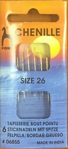 Picture of Embroidery / Chenille Needles Size 26