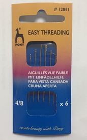 Picture of Easy Threading Needles Size 4/8